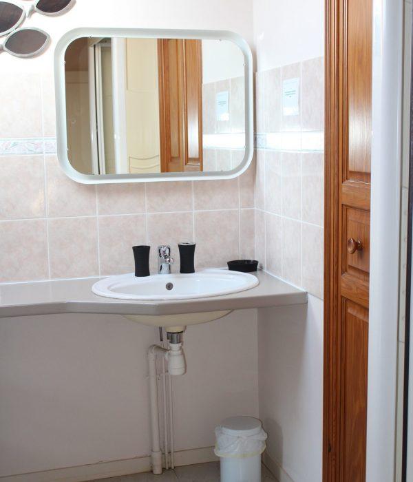 aperçu salle de douche appartement