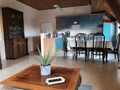 vue sur cuisine appartement